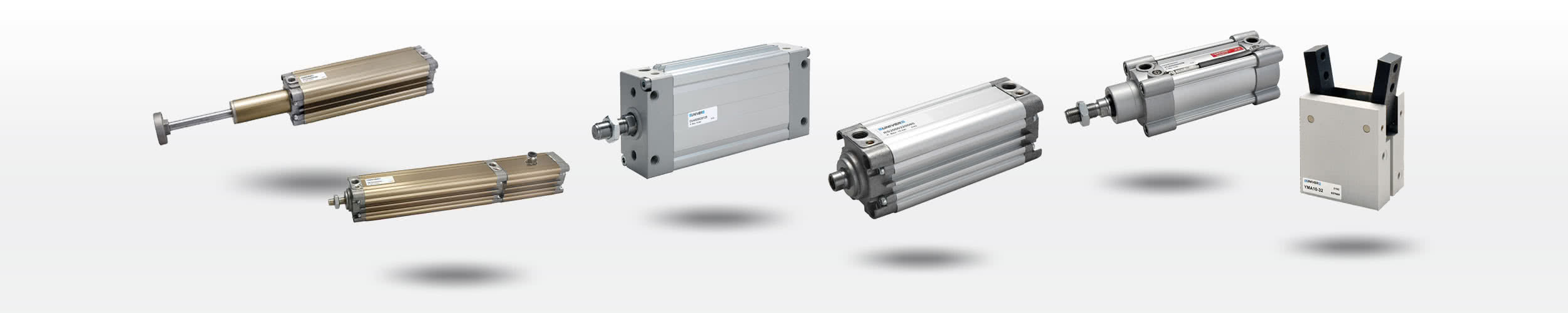 Pneumatic Cylinders - Standard (ISO), Compact, Oval, High-Tech